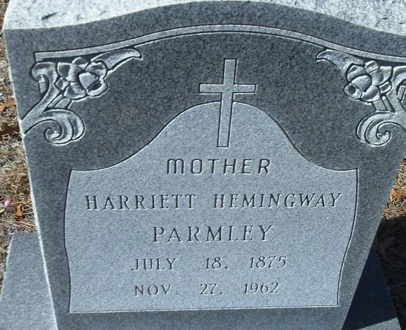 Harriet Green Hemingway Parmley