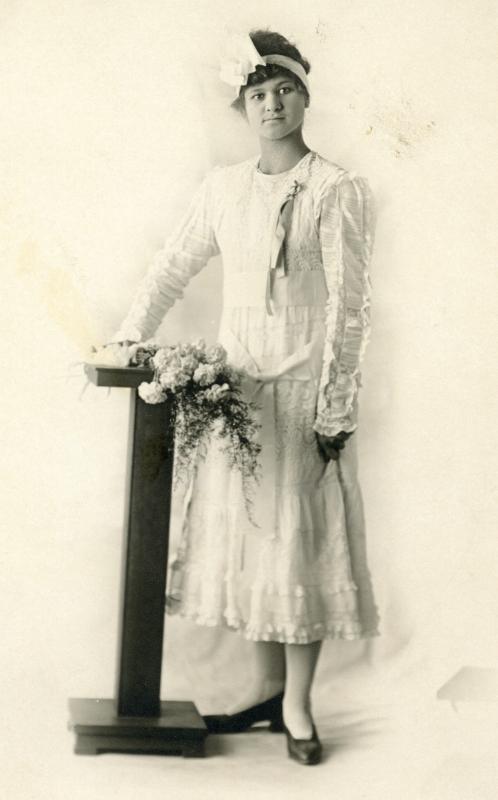 photo of  Elsie Virginia Ritchie Olson Langston